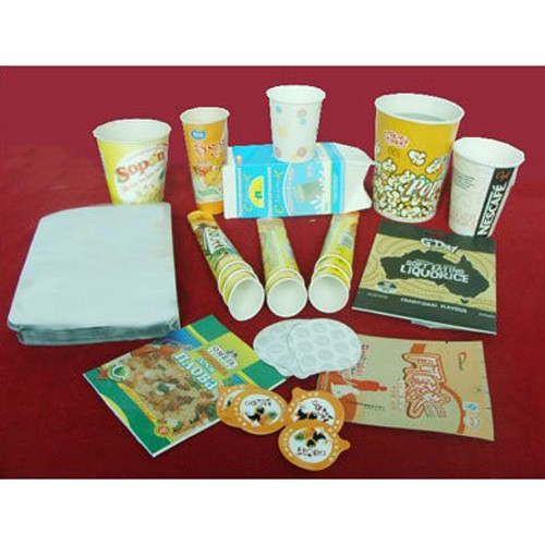 Paper Pouches Laminated Paper For Food
