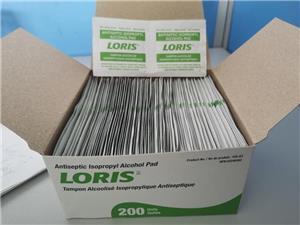 ALuminium foil paper ffir antiseptic isopropyl Alcohol pads