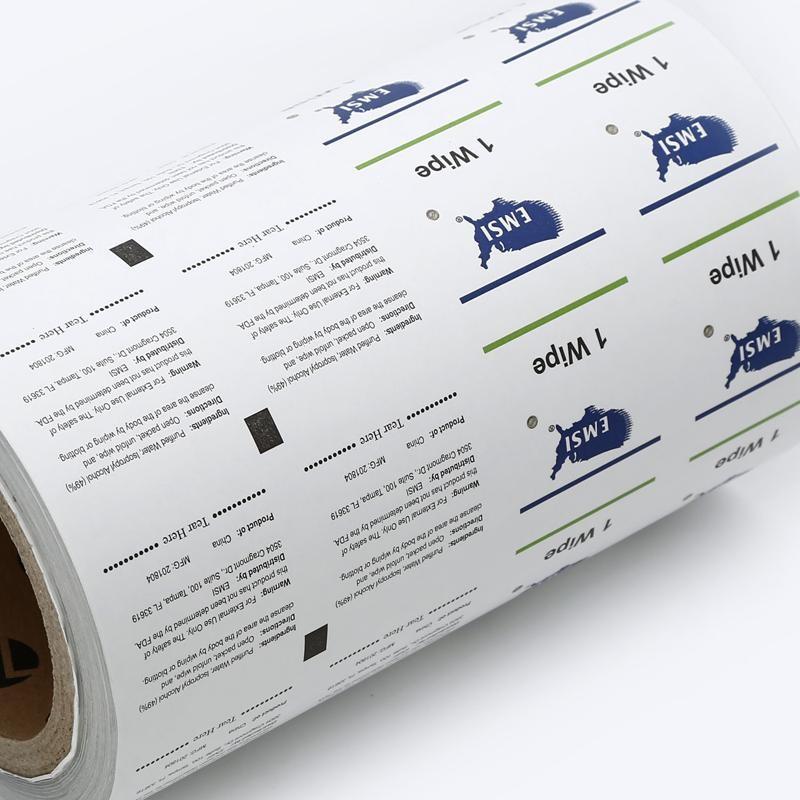 Material de embalagem asséptico adequado para produtos médicos