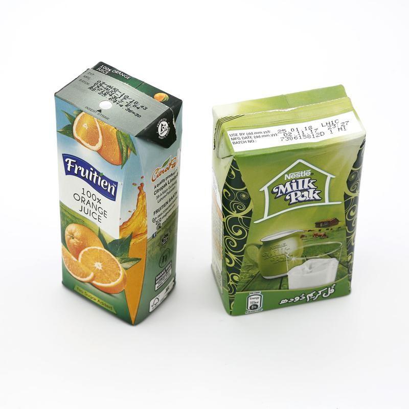 standard milk carton, juice box, milk carton, 200ml, 250ml,
