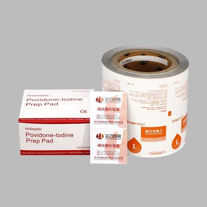 Desinfecção de material de embalagem para produtos médicos