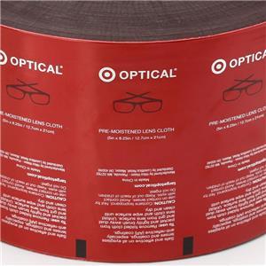 Saco de embalagem de lenços umedecidos OEM para óculos, lentes, almofadas removedoras de unhas