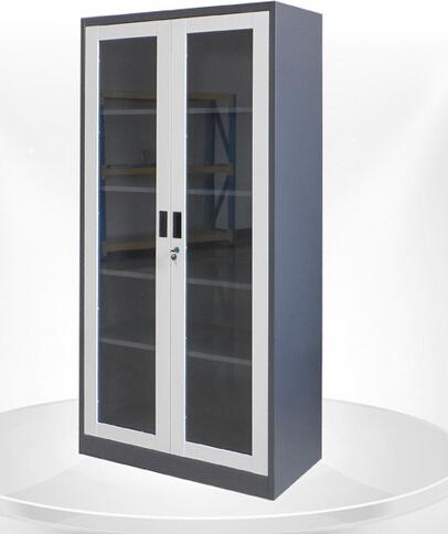 glass door metal filing cabinet