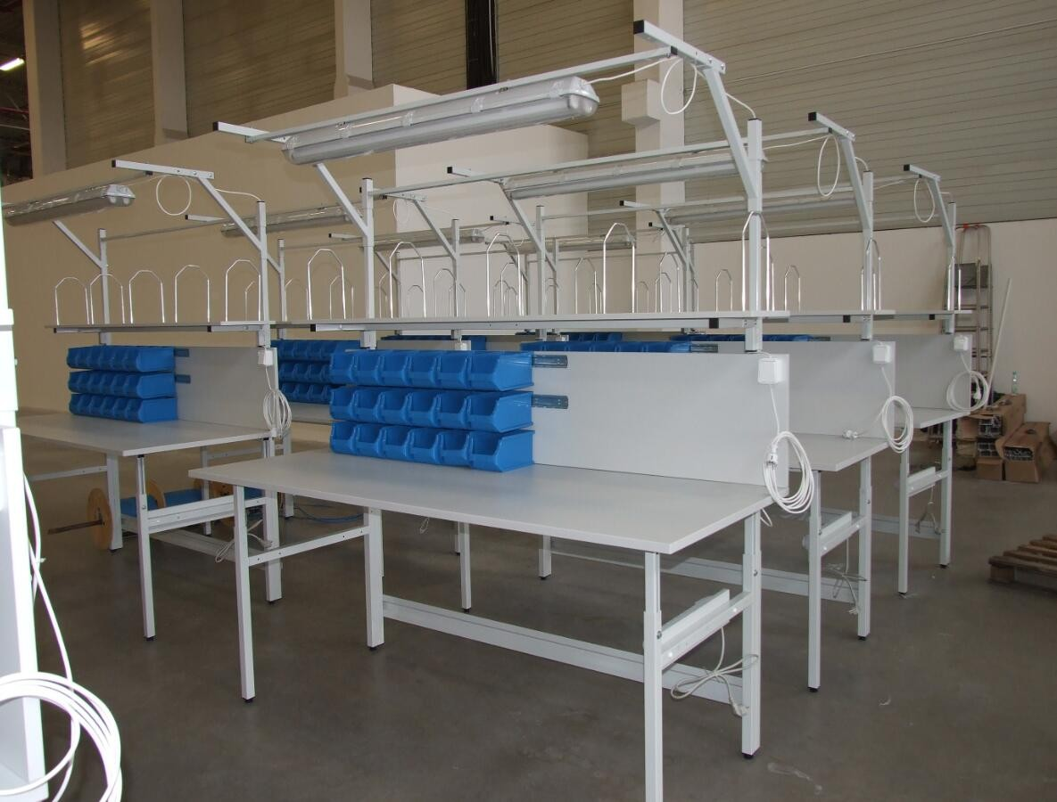 Russian Customer Workshope Bench Project