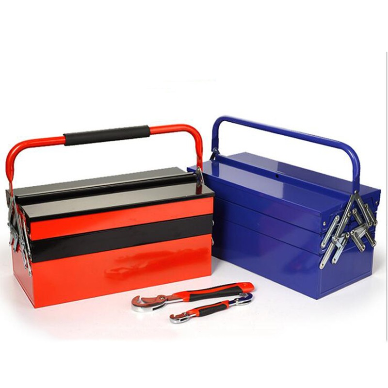 Collapsible Iron Multi Drawer Tool Chest And Box