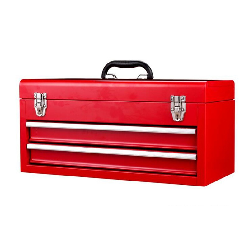 Red Home Small Steel 2 Drawer Tool Chest