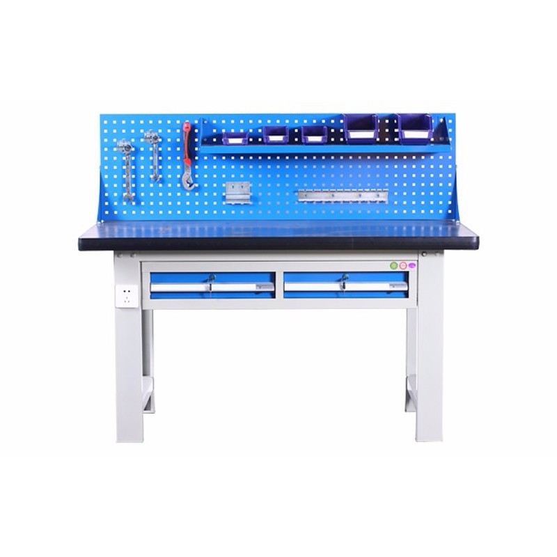 Anti Static Metal Workbench With Shelves