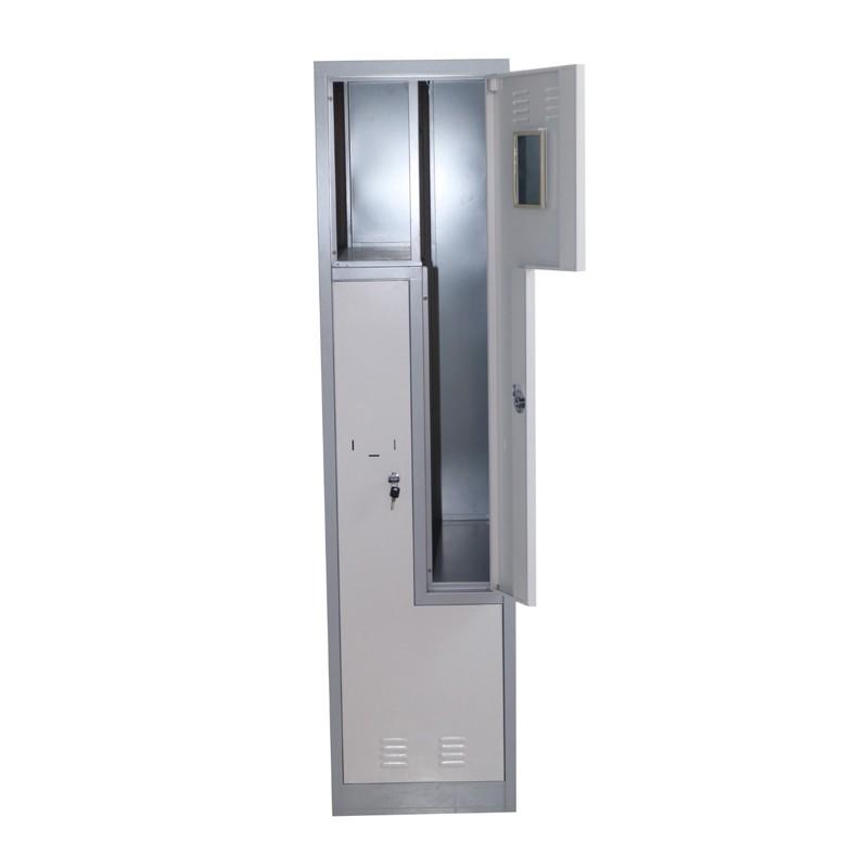 Steel Z Shape Door Storage Locker Cabinet