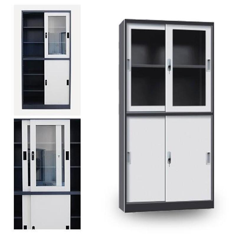 Grey Foldable Glass Door Metal Filing Cabinet Manufacturers, Grey Foldable Glass Door Metal Filing Cabinet Factory, Supply Grey Foldable Glass Door Metal Filing Cabinet
