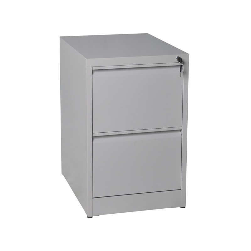 Vertical Office 2 Drawer Steel File Storage Cabinet