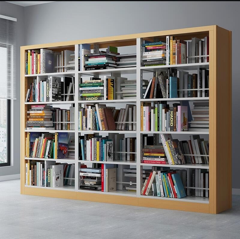 Steel Office Library Book Shelving Cabinet