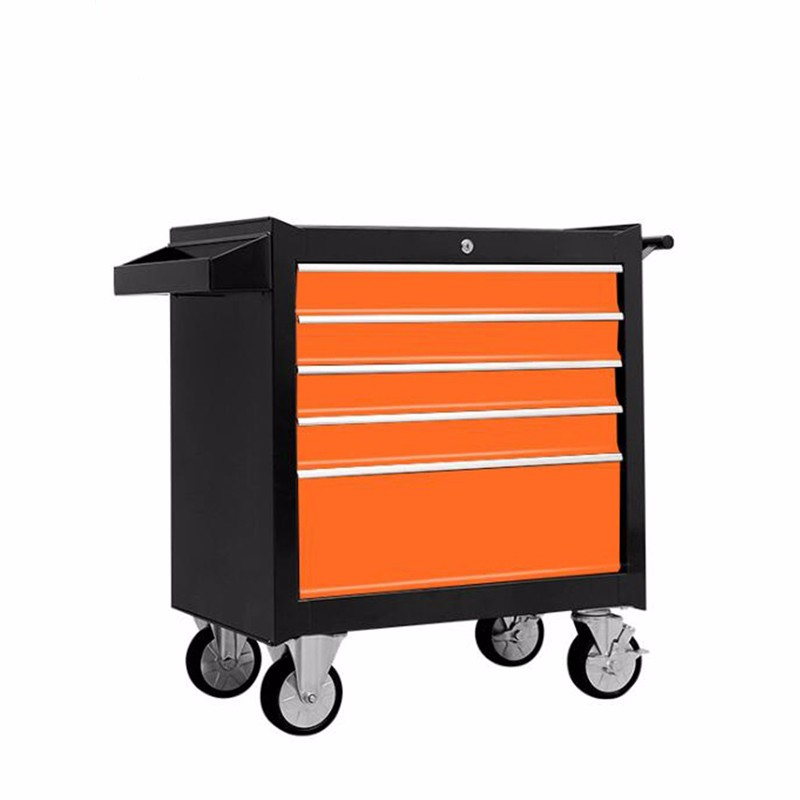 5 Drawer Mobile Colorful Tool Storage Trolley