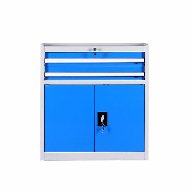 Industrial Workshop Metal Storage Cabinet Workbench