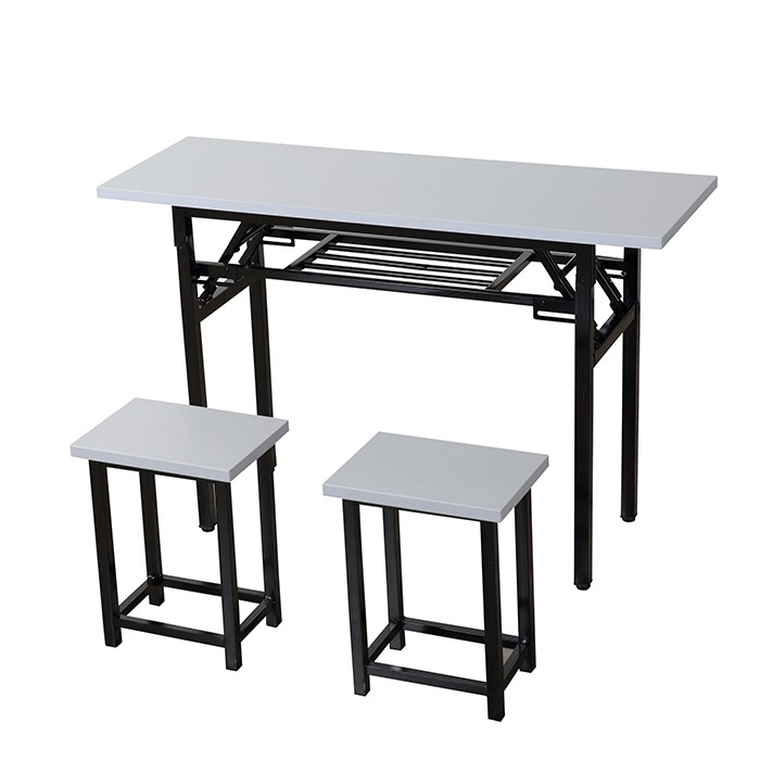 College Metal School Table And Chairs Sets