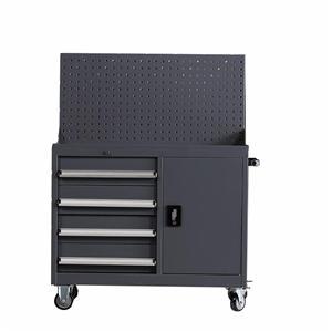 4 Drawer Metal Rolling Tool Box Cabinet Organizer