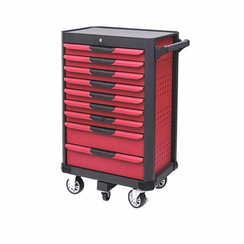 9 Drawer Hand Steel Tools Trolley Cart