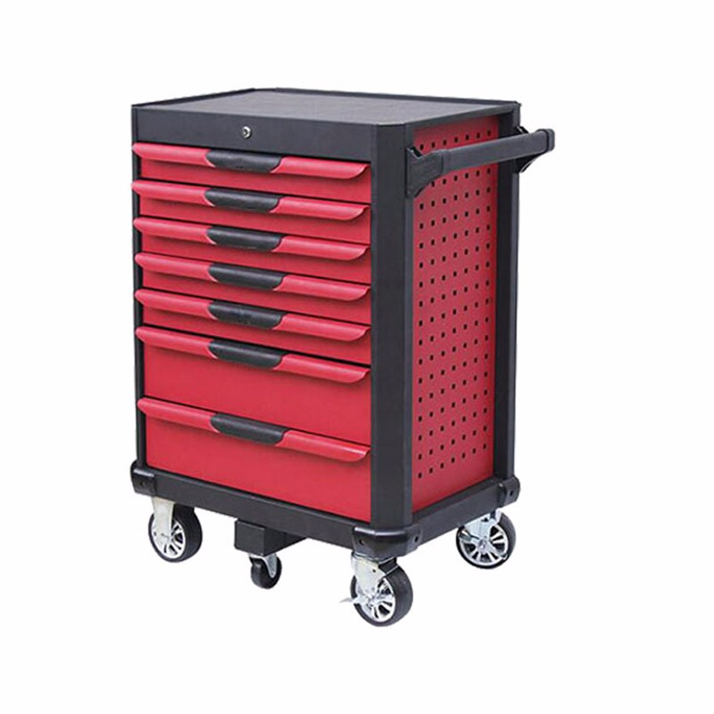 Roller Metal Tool Storage Cabinet With Drawers