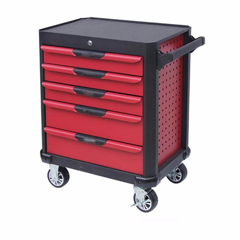 Industrial 5 Drawer Tool Storage Trolley
