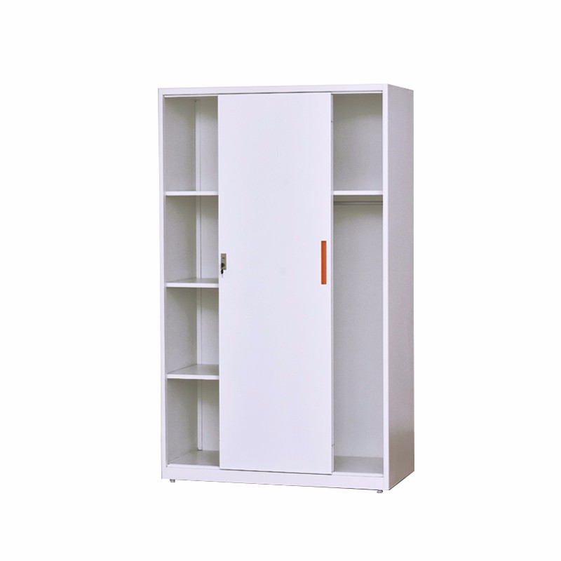 Sliding Door Grey Commercial Steel Filing Cabinet