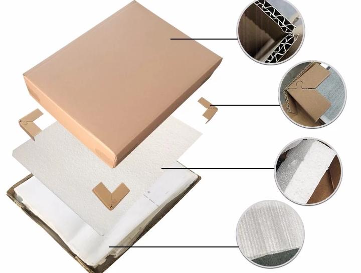 Foldable filing cabinet