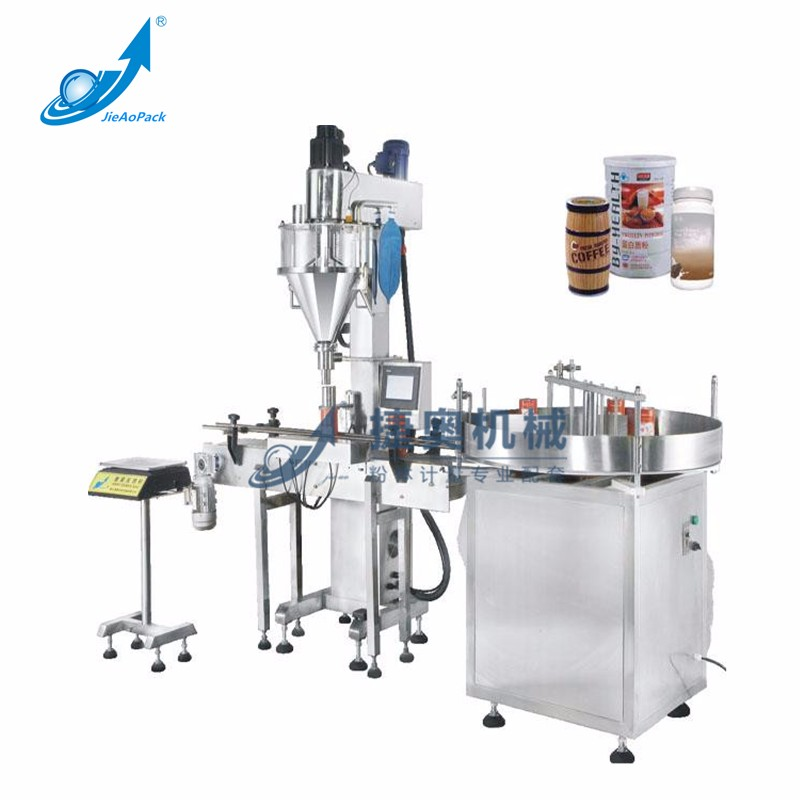 Full-automatic Powder Single Auger Automatic Filling Machine