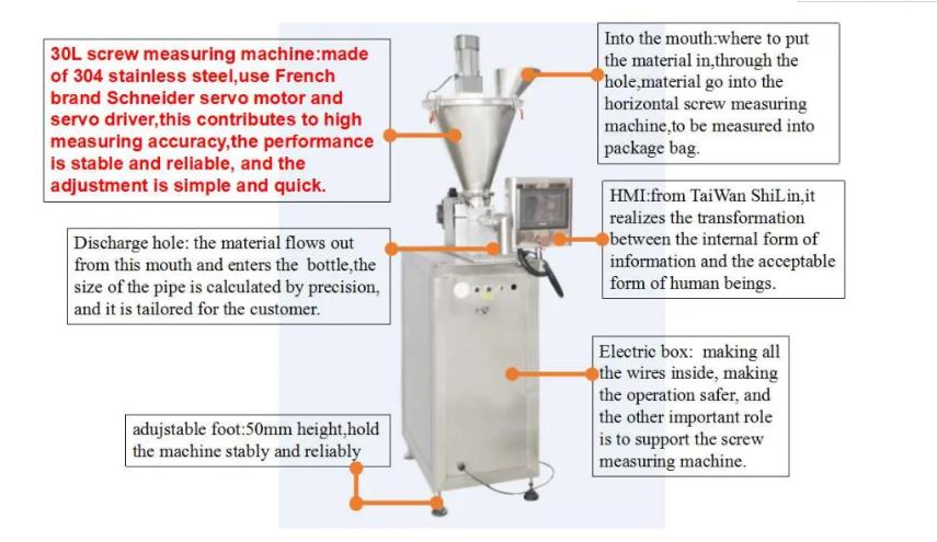 Semi-automatic Horizontal Powder Packing Machine