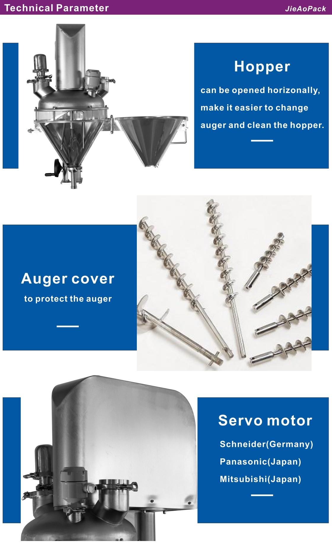 metering auger