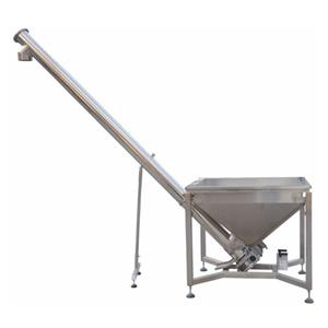 Feeder Getaran Spiral Square Hopper