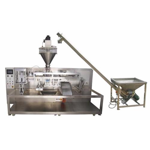 high speed horizontal bag feeding packing machine