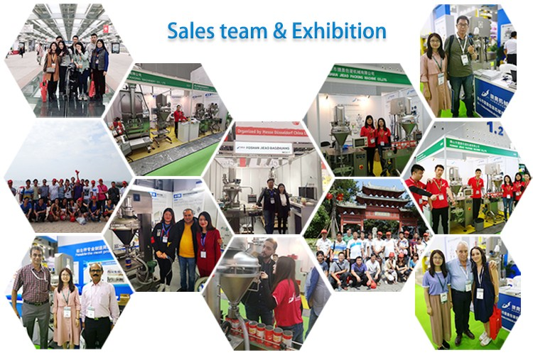 Sales team & Exhibition