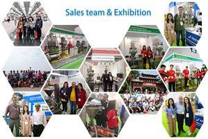 Sales team & Exhibition