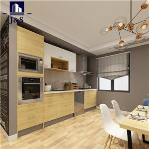 Affordable Pre Made Cherry Kitchen Cabinet