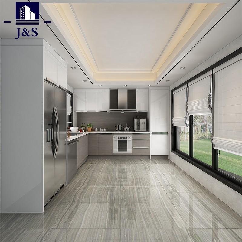 Prefabbricato costruito nel singolo Overhead Kitchen Cabinet