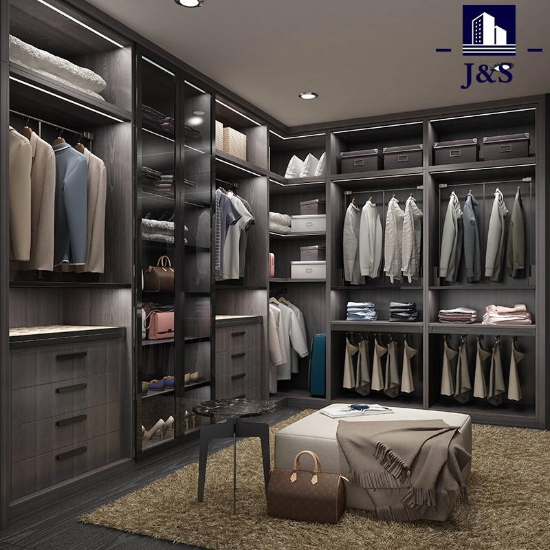 Custom Bilik Tidur Dibina Furniture Walk In Closet deisgn