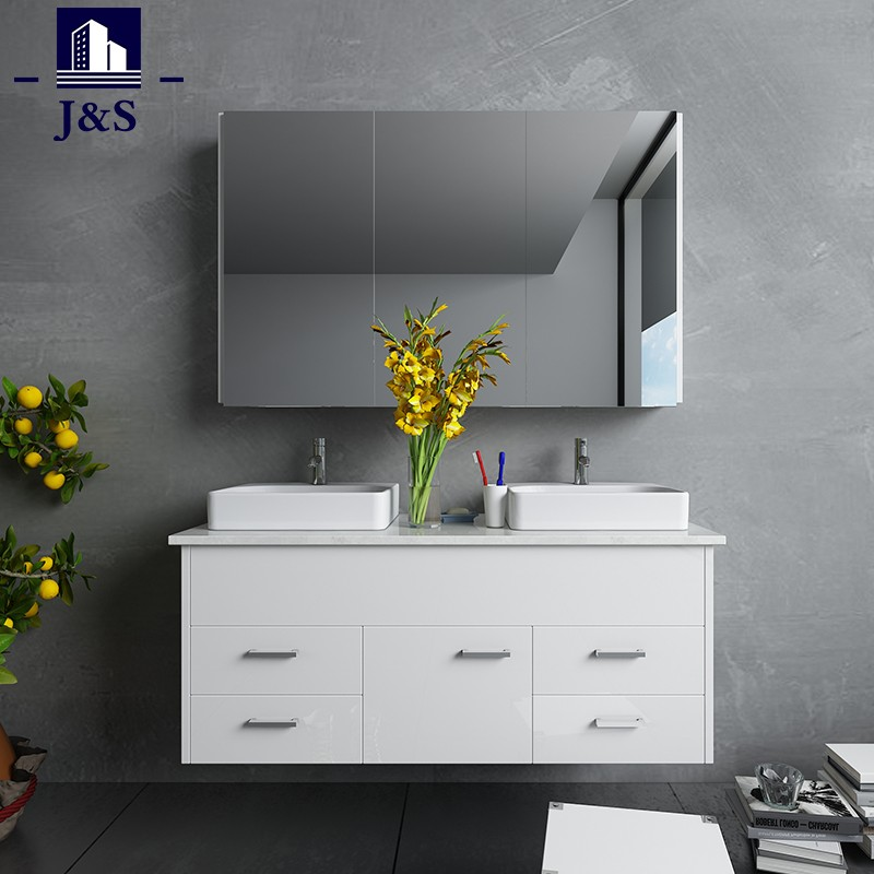 Small Wall Mounted Bathroom Vanity With Sink And Top