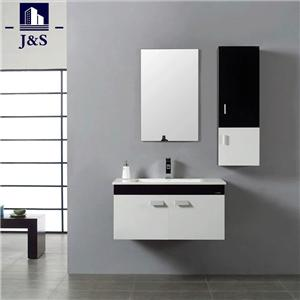 Customized Small White Bathroom Vanity Cabinet Cupboard