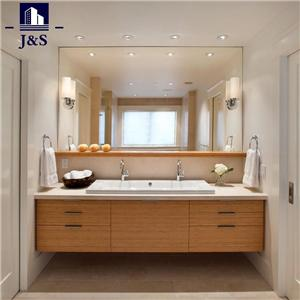 Tall Mirrored Glass Washroom Bathroom Vanity Cupboard