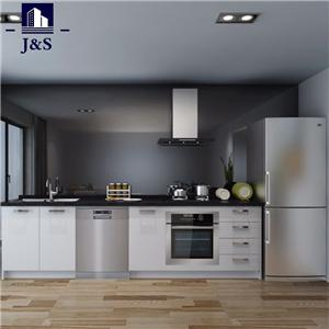 Modern white cabinet kitchen pantry cabinet doors