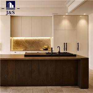 High end assembled kitchen cabinets built in cabinet