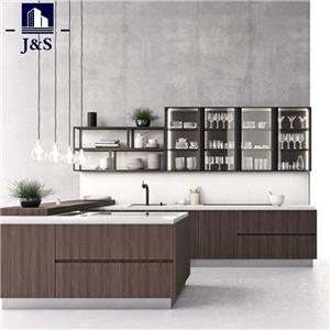 Premade kitchen cabinet makers manufacturers in China