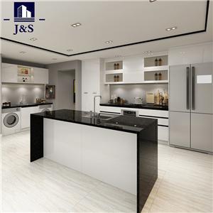 Modular best custom laminate kitchen cabinets designs
