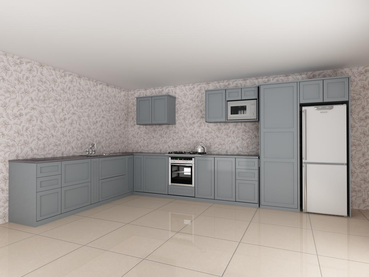 kabinet dapur penyelesai