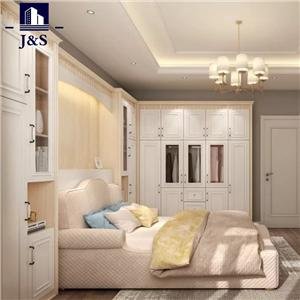 White black modular single wardrobe closet