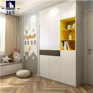 White cheap open thin wardrobes dresser wardrobe closet