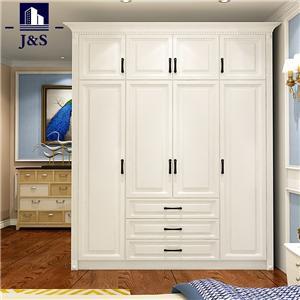 Big walnut standing cream armoire wardrobe closet