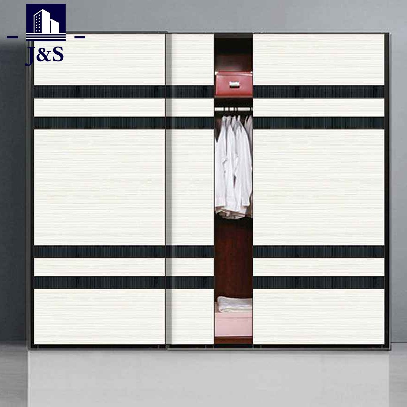 White small wardrobe paint closet cupboard with mirror drawers