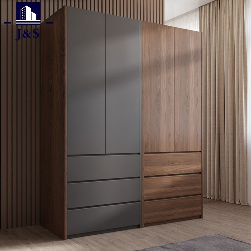 Small single bedroom cloth wardrobe storage closet