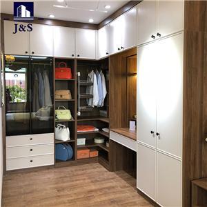 Luxury master walk in wardrobe cabinets storage systems