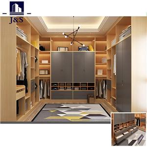 Modern walk in wardrobe closet organizer for small walk in closets