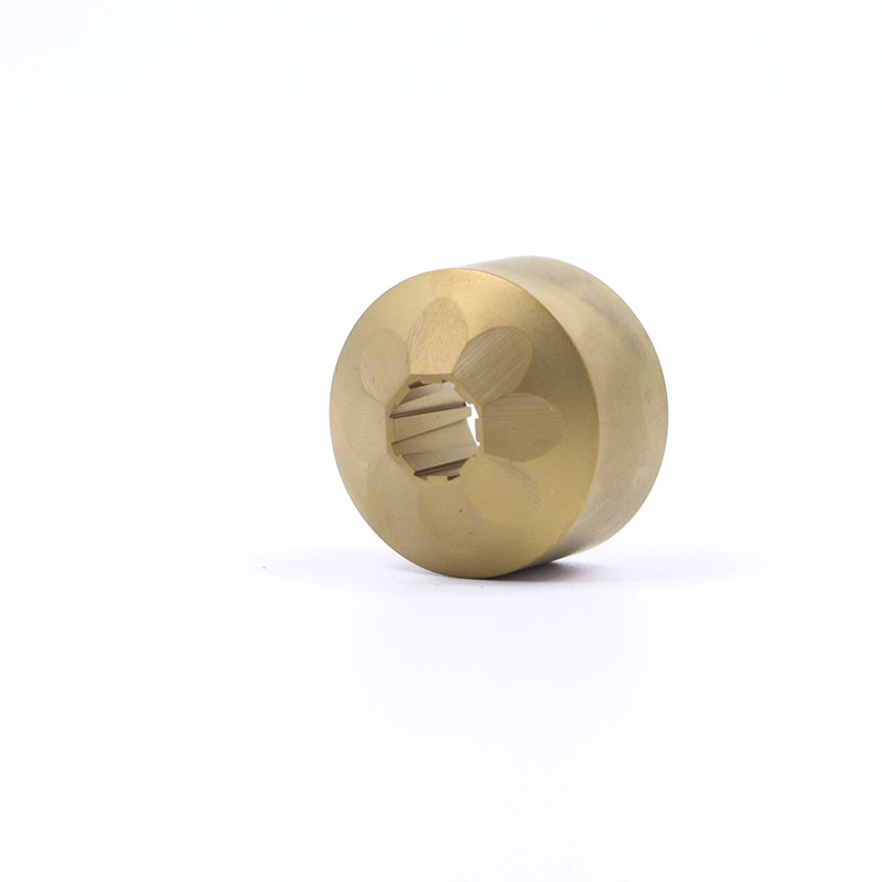 Oblong Solid Type Trimming Die TiN Coated
